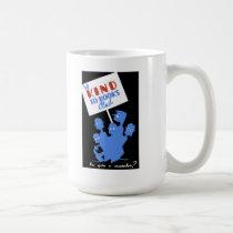"WPA - ""Be Kind to Books Club"" Coffee Mug"