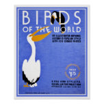WPA Birds of the World advertising Posters
