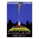 WPA - Buckingham Fountain Card