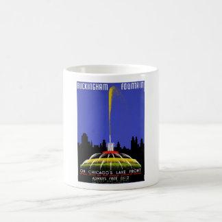 WPA - Buckingham Fountain Classic White Coffee Mug