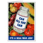 WPA- Can All You Can Greeting Card