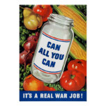 WPA- Can All You Can Posters