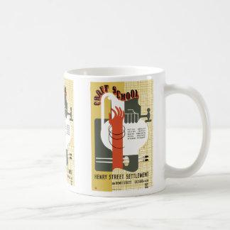 WPA Craft School Coffee Mug