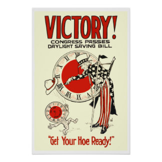 WPA Daylight Savings Time Poster