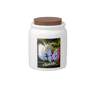WPA - Discover Puerto Rico Candy Jar