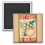 WPA Eat Fruit / Be Healthy magnet