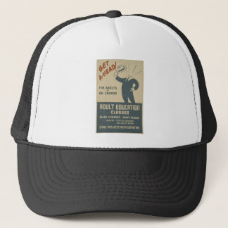 WPA - Education Trucker Hat