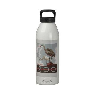 WPA - el parque zoológico Botella De Agua