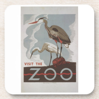WPA - el parque zoológico Posavasos De Bebida