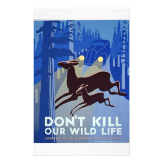 WPA - fauna Flyer Personalizado