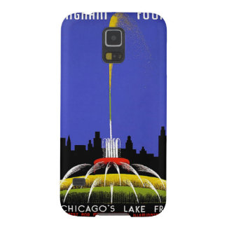 WPA - fuente de Buckingham Fundas Para Galaxy S5