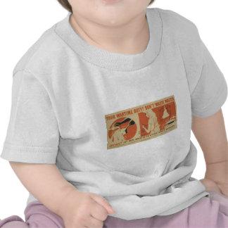 WPA - hacen no las aguas residuales Camiseta