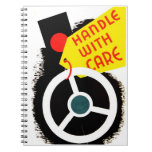 """WPA - """"Handle with Care"""" Notebook"""