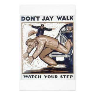 WPA - Jaywalk Tarjeta Publicitaria