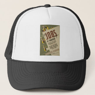 WPA - Jobs Trucker Hat