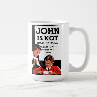 "WPA - ""John is Not"" Coffee Mug"