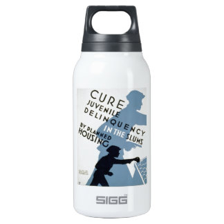 WPA - Juvenile Delinquency Insulated Water Bottle