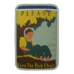 WPA - Keep the Park Clean MacBook Air Sleeve