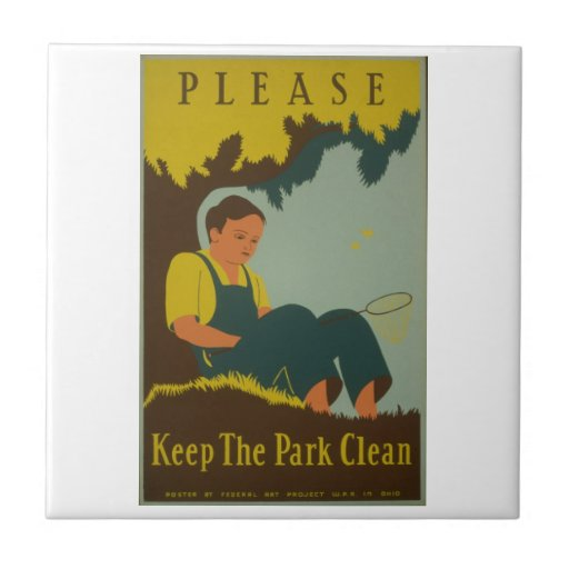 WPA - Keep the Park Clean Tiles