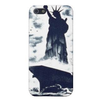 """WPA - """"libertad para todo el"""" caso del iPhone iPhone 5 Protector"""