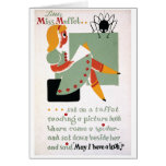 WPA Little Miss Muffet 1936 Card