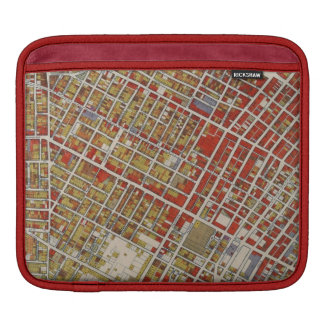 WPA Map of Central Los Angeles iPad Sleeve