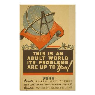 WPA - mundo adulto Tarjetas Publicitarias