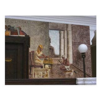 WPA Murals 2 ~ postcard