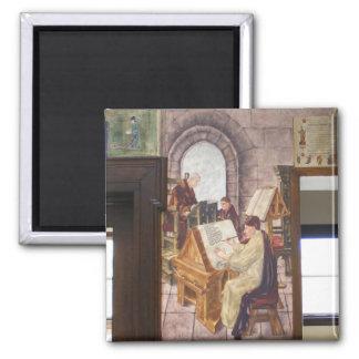 WPA Murals 4 ~ magnet