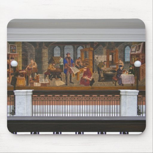 WPA Murals 5 ~ mousepad