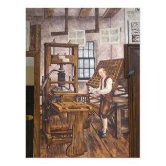 WPA Murals 6 ~ postcard
