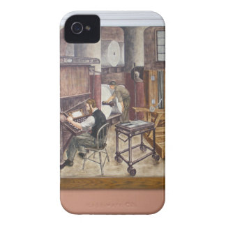 WPA Murals 7 ~ iPhone 4 CaseMate Barely There iPhone 4 Cover