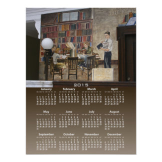 WPA Murals 8 calendar ~ print
