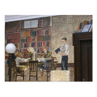 WPA Murals 8 ~ postcard