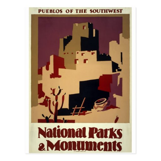 WPA - National Parks Post Cards
