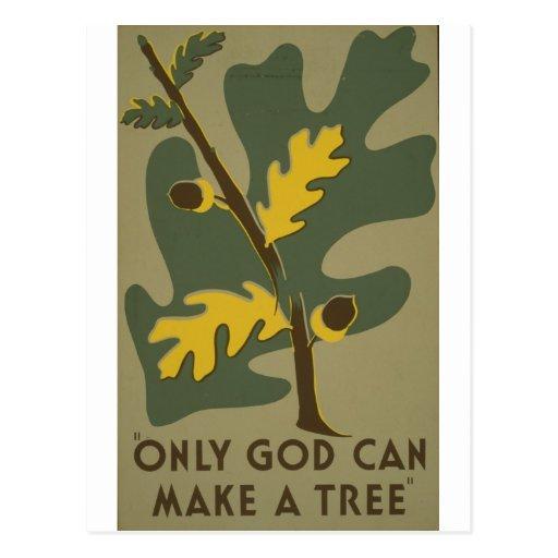 WPA - Nature Postcard