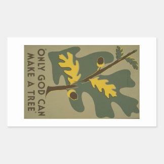 WPA - Nature Rectangle Sticker