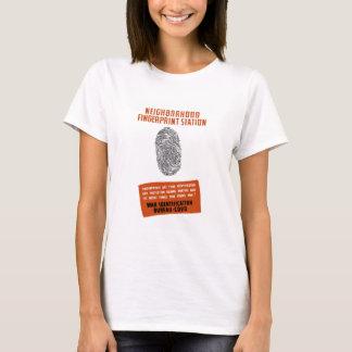 WPA -- Neighborhood Fingerprint Station T-Shirt