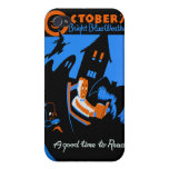 WPA, October Is A Great Time To Read Cover For iPhone 4