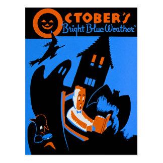 WPA, octubre es un gran rato de leer Tarjeta Postal