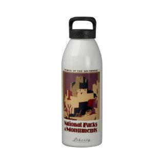 WPA - parques nacionales Botella De Agua Reutilizable