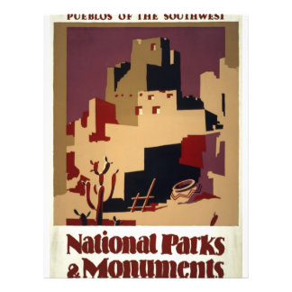 WPA - parques nacionales Flyer A Todo Color