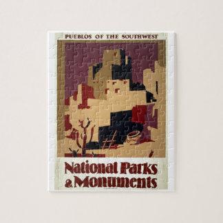 WPA - parques nacionales Rompecabezas Con Fotos