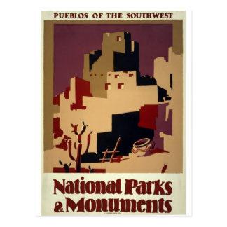 WPA - parques nacionales Postal