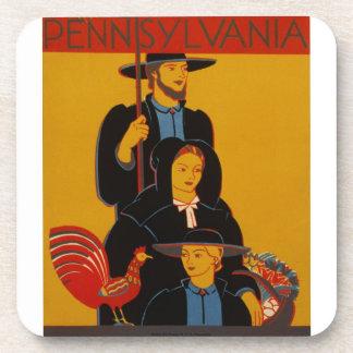 WPA - Pennsylvania Drink Coaster