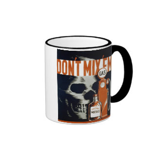 "WPA Poster - ""Don't Mix 'Em"" Coffee  Mug"