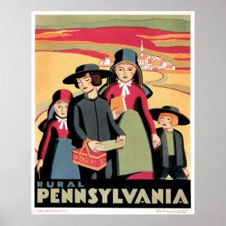 WPA Poster for Pennsylvania