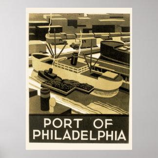 WPA Poster for Philadelphia