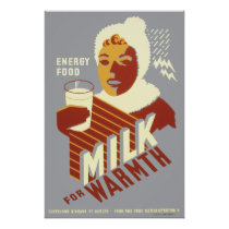 WPA Poster MILK