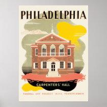 WPA Poster Philadelphia